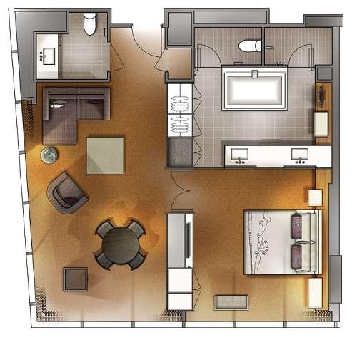 Loft layout